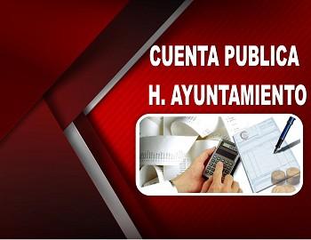 CUENTA PUBLICA H. AYUNTAMIENTO