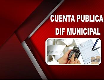 CUENTA PUBLICA DIF MUNICIPAL
