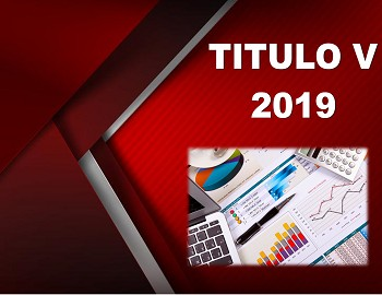 TITULO V 2019