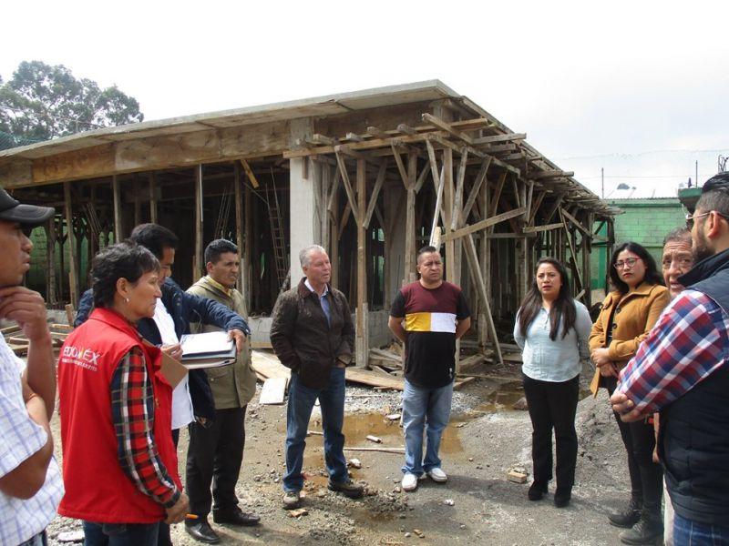Reconstrucción de Escuelas en Joquicingo