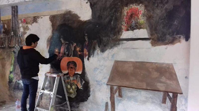 Murales Día de Muertos