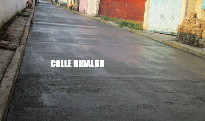 RECONSTRUCCIÓN DE CALLES